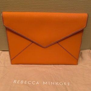 Rebecca Minkoff Leather Leo Clutch